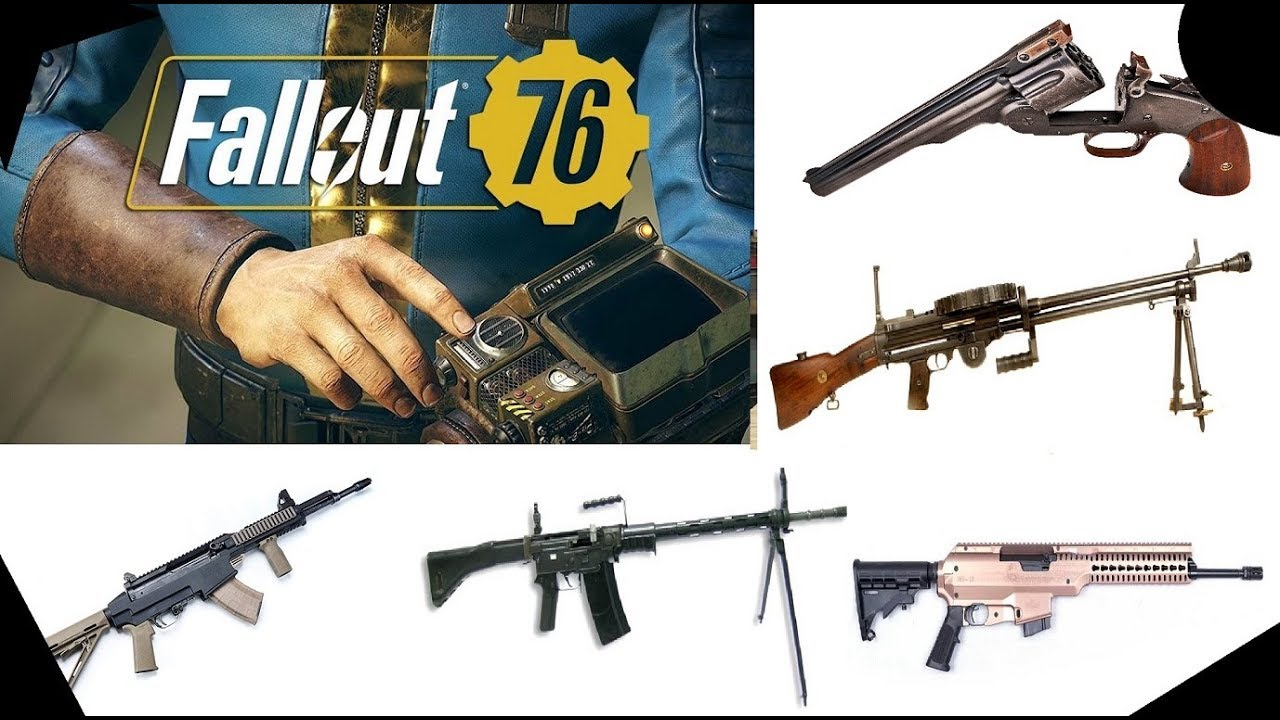 Fallout 76 Extensive Weapon List (Please Inquire for Prices)
